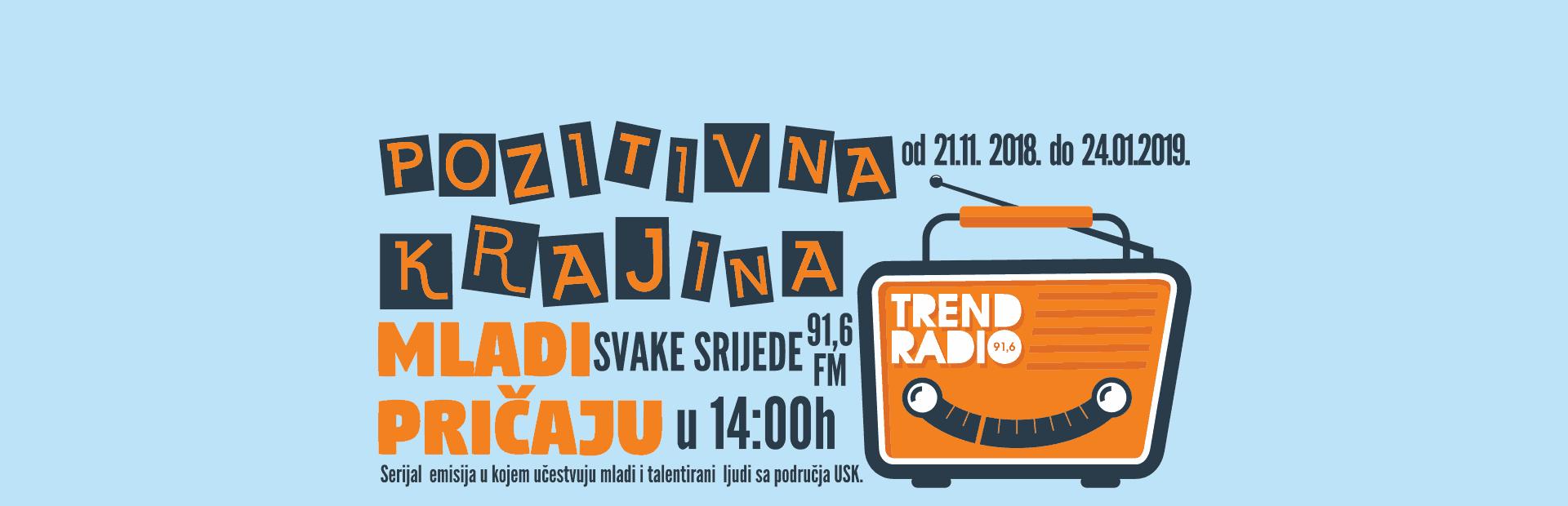 Trend Radio Velika Kladusa - Pozitivna Krajina