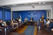 U kabinetu Premijera USK-a upriličen prijem predstavnika Vijeća mladih USK-a