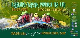 Rafting / kajak regata na Uni emocija i sjećanja – skokovi, koncert, zabava, adrenalin