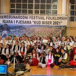 """Održan 12. Međunarodni festival folklornih igara i pjesama """"KUD BISER 2021"""""""